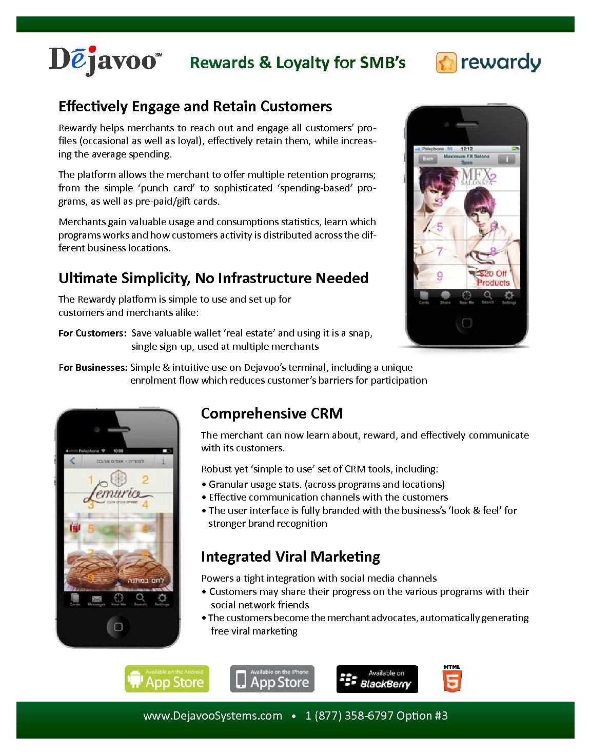 Marketing Materials – Dejavoo Systems